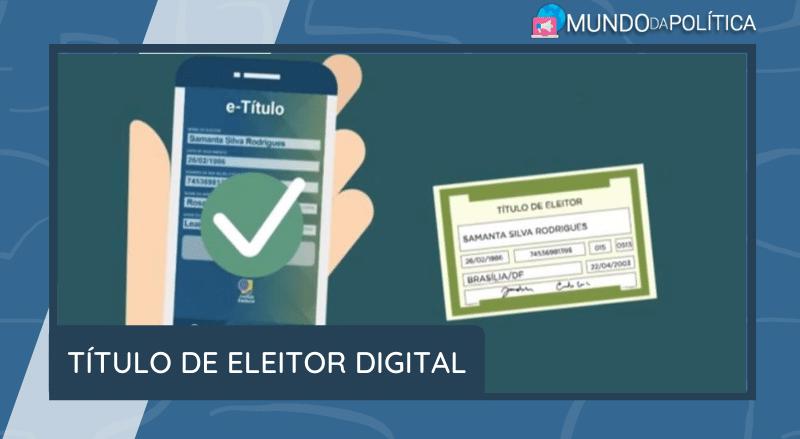 título de eleitor digital
