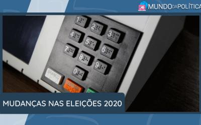 Mudanças nas Eleições 2020! Fique por dentro!