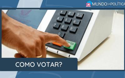 Saiba como votar nas Eleições para Prefeito e Vereador!