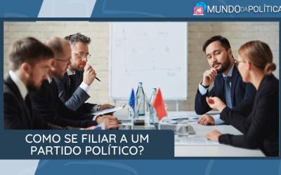 Saiba como se filiar a um Partido Político?