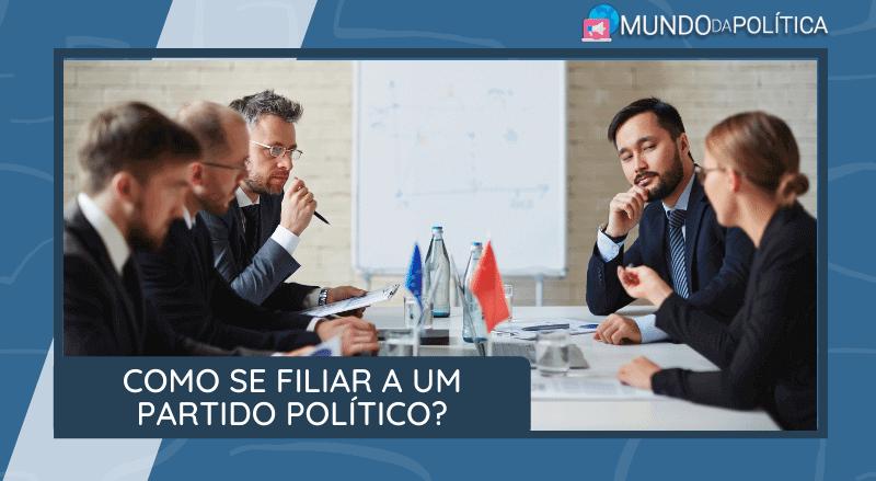 como se filiar a um partido politico